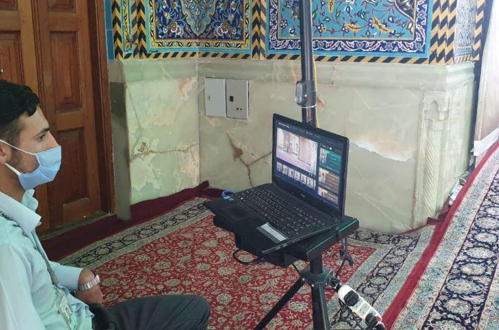 تب سنجی در حرم امام حسین(ع) + عکس