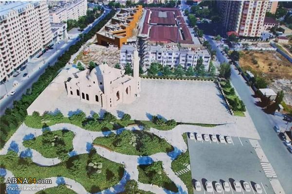 تخریب مسجد حضرت زهرا(س) توسط دولت آذربایجان + عکس