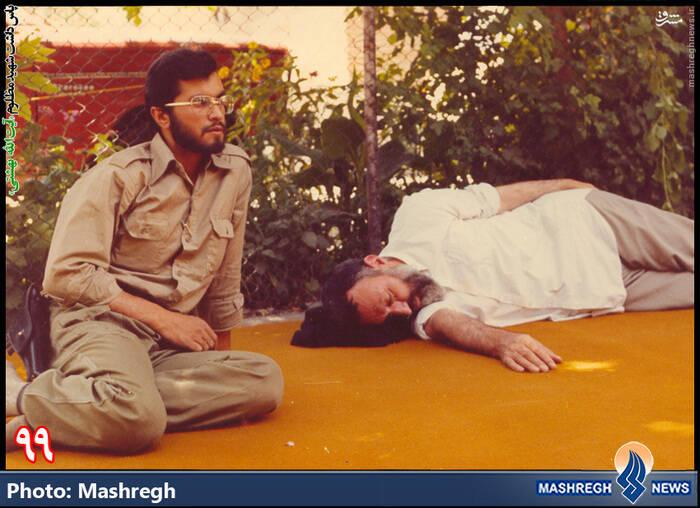 خواب آرام شهید بهشتی+ عکس