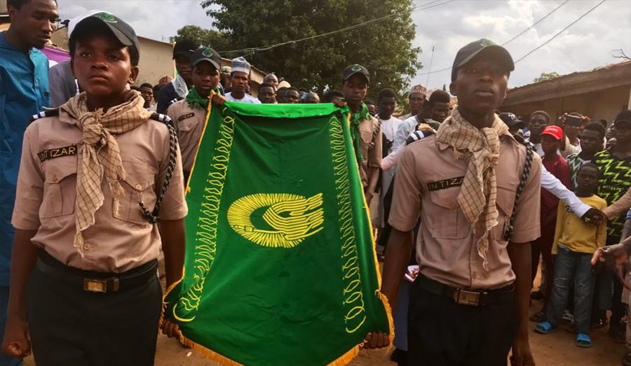 جشن میلاد امام رضا(ع) توسط شیعیان نیجریه + عکس