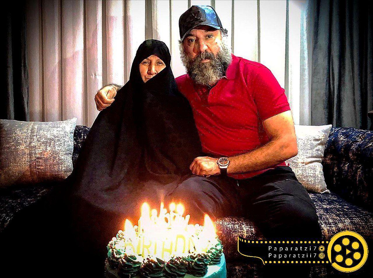 کیک تولد لاکچری علی انصاریان +عکس