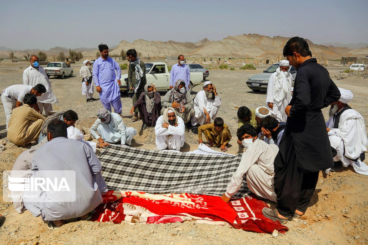 کفن و دفن اموات اهل سنت در دوران کرونا + عکس