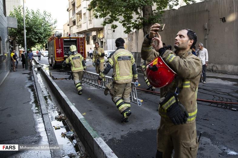 کار نامتعارف شهروند تهرانی سوژه شد+ عکس