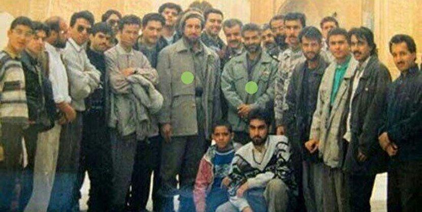 عکسی دیده نشده از «حاج قاسم» در کنار «احمدشاه» + عکس