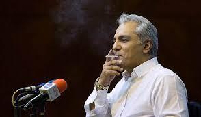 سیگار کشیدن مهران مدیری عمل زشت ناپسند ژست روشنفکری