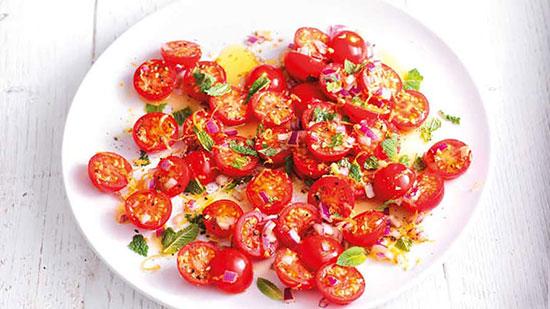 خواص گوجه گیلاسی به همراه چند دستور غذایی لذیذ