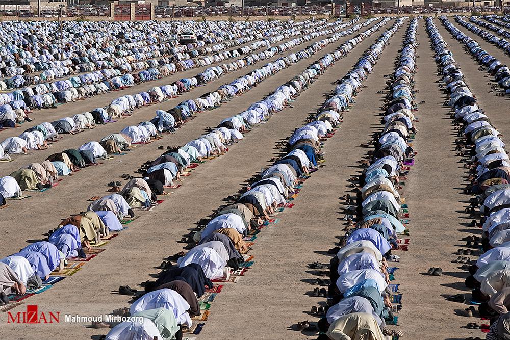 نماز عید قربان در زاهدان + عکس
