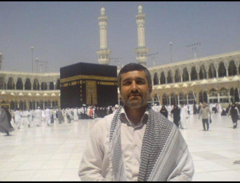 تصویری قدیمی از سردار حاجیزاده در صحن مسجدالحرام + عکس