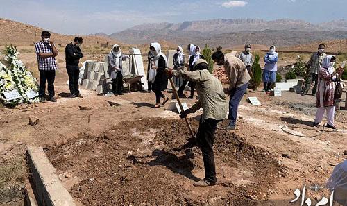 پیکر موبد زرتشتی به خاک سپرده شد + عکس