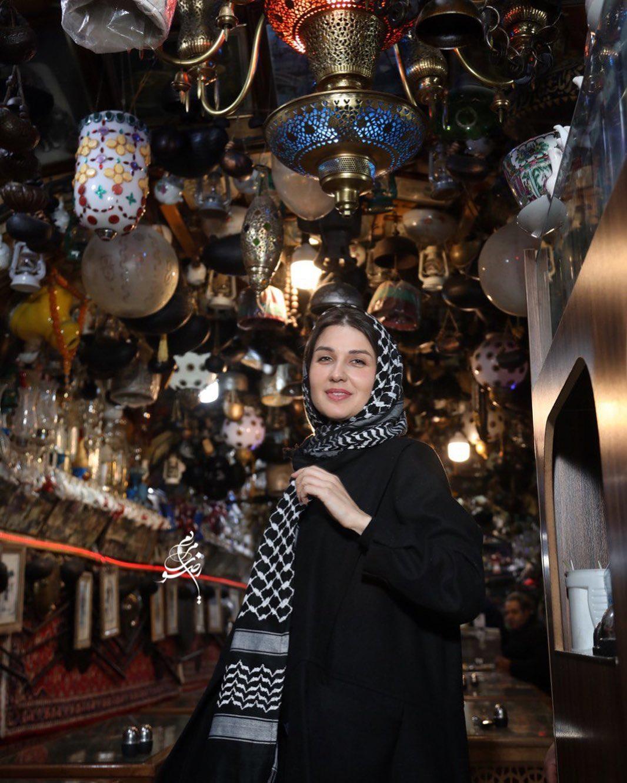 دلتنگی گلوریا هاردی برای اصفهان + عکس