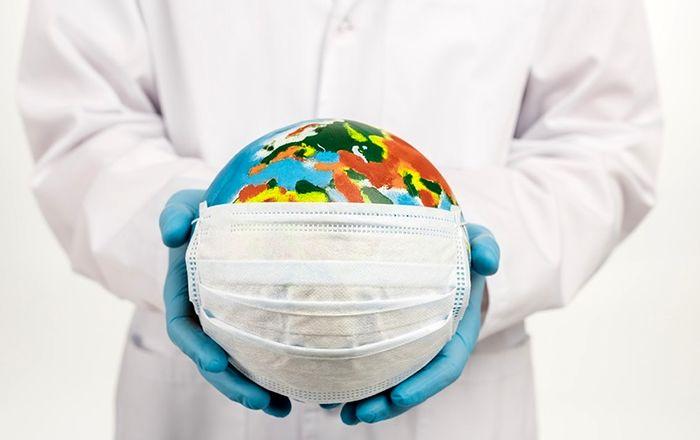 ثبات و کاهش نسبی شیوع کرونا از طریق استفاده از ماسک