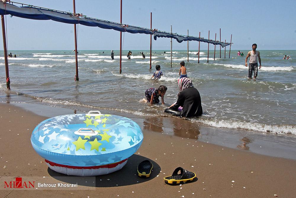 کرونا گردی در ساحل خزر! + عکس