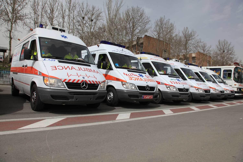 یک نفر در تبریز ۱۲۰۰ بار مزاحم اورژانس شده است