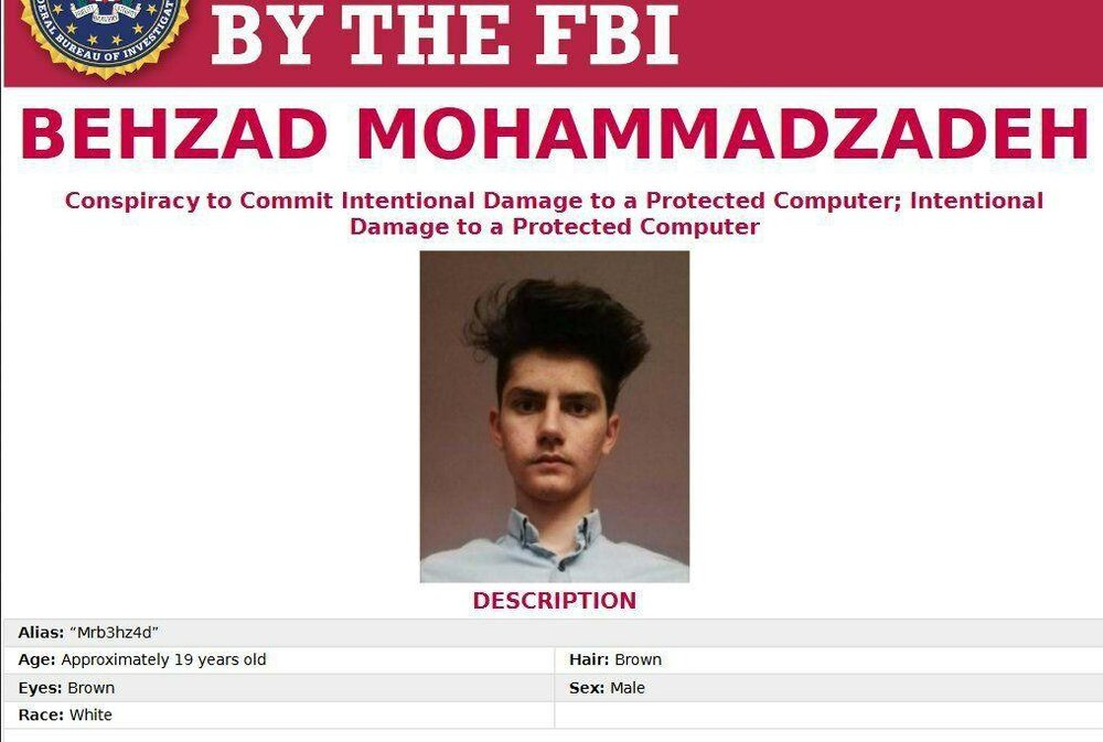 FBI یک جوان غیور ایرانی را تحت تعقیب قرار داد+ عکس