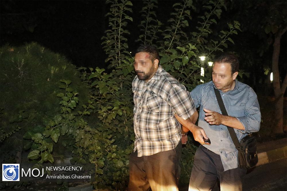 عملیات شبانه دستگیری بزرگترین توزیع کننده مواد مخدر غرب تهران + عکس