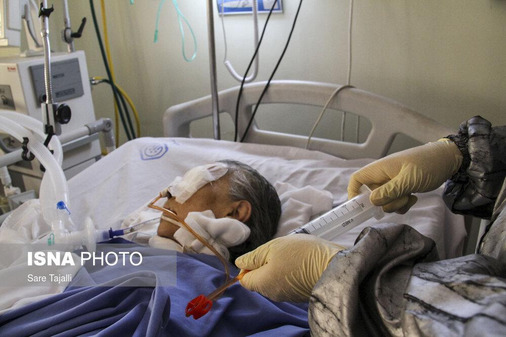 بیمارستان پیامبر اعظم کرمان در شرایط کرونایی + عکس