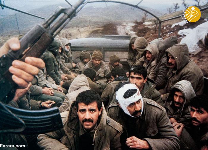 اسارت سربازان عراقی توسط رزمندگان + عکس