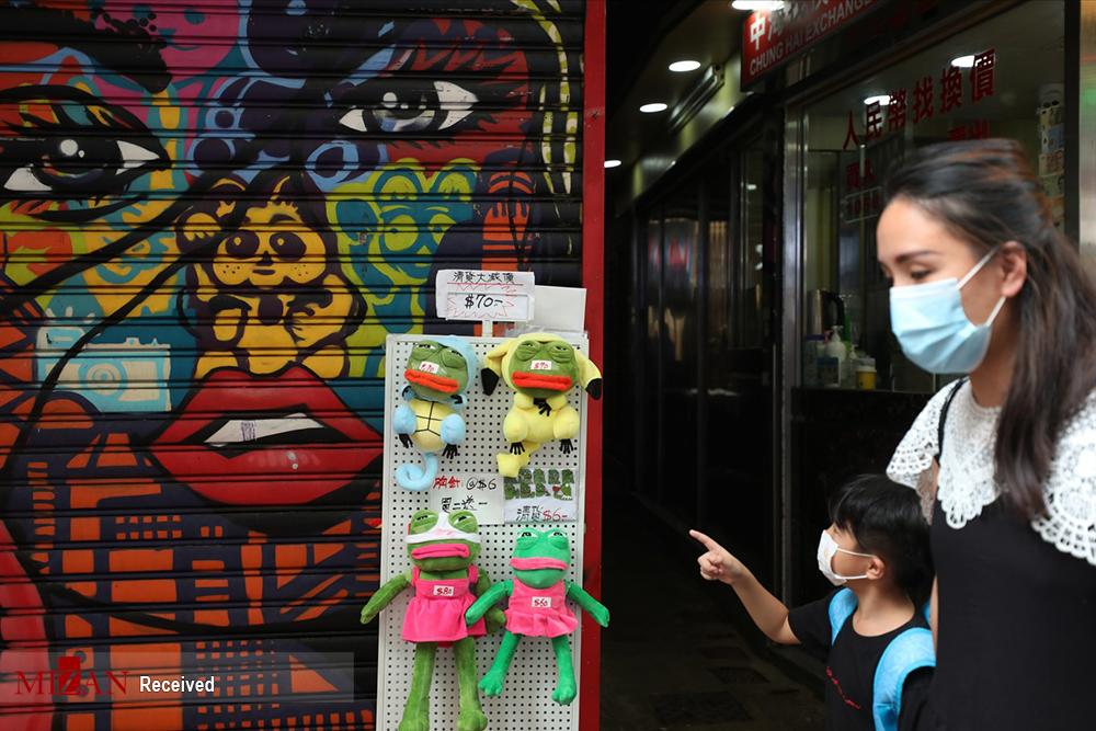 روزهای کرونایی هنگ کنگ از زاویه دید عکاسان + عکس