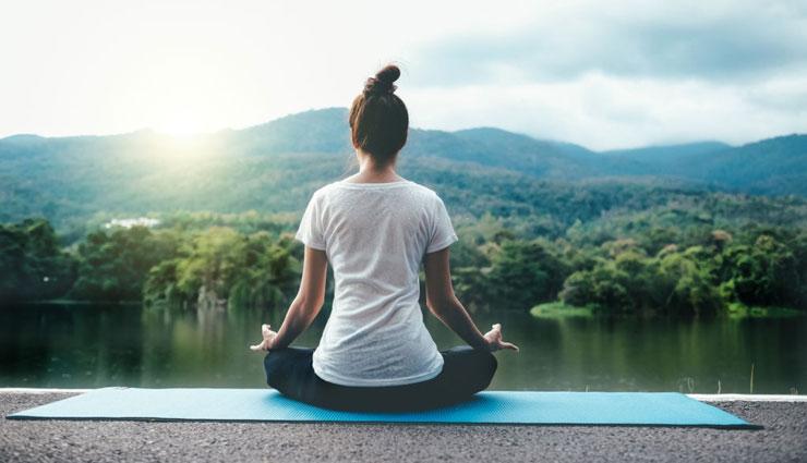 از بین بردن استرس بوسیله یوگا
