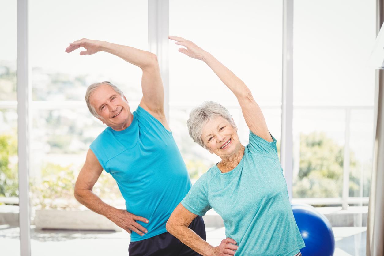 آموزش مجازی تمرینات درمانی برای سالمندان