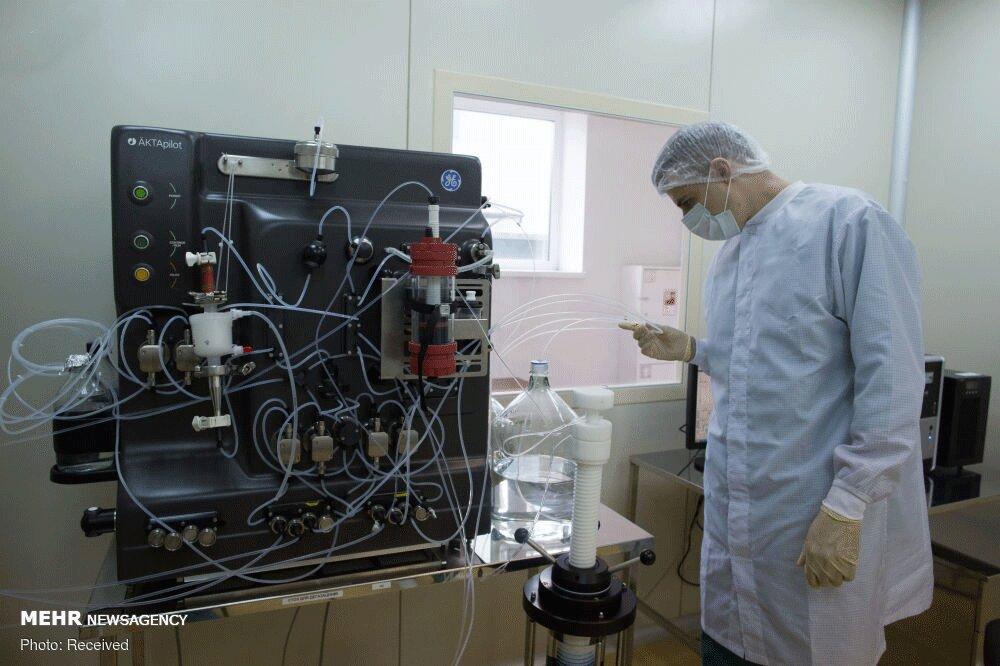 تصاویری جالب از خط تولید واکسن روسی کرونا