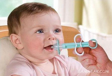 چگونه به نوزادان دارو بدهیم؟