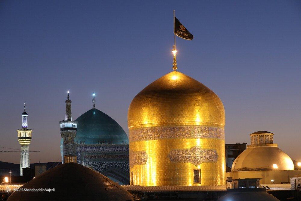 مراسم خطبه خوانی شب شهادت حضرت امام رضا (ع)+ عکس