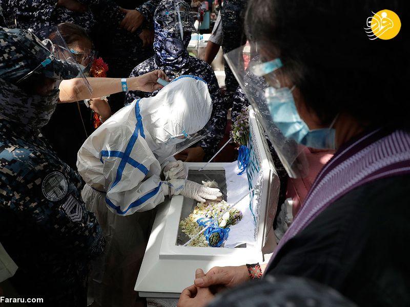 جنجال در فیلیپین؛ تشییع جنازه نوزاد متولد شده در زندان + عکس