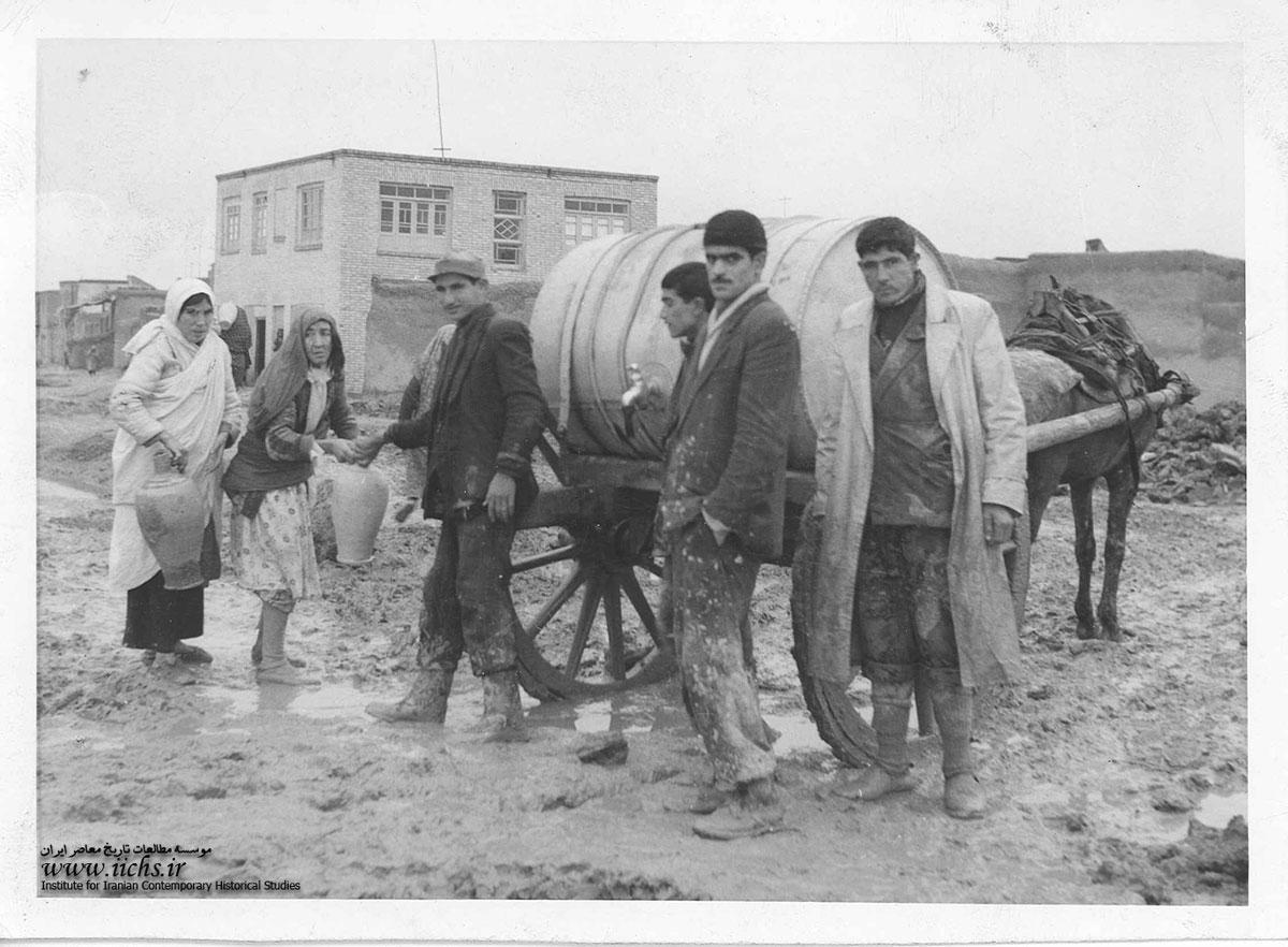 آبرسانی در تهران قدیم چگونه بود؟+ عکس
