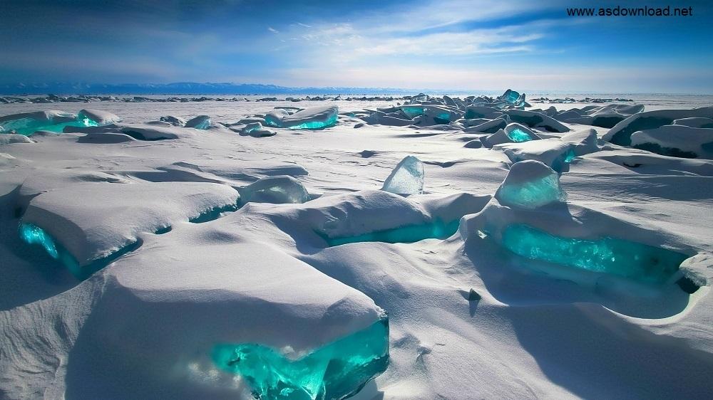 دریاچه زیبای بایکال در روسیه + عکس
