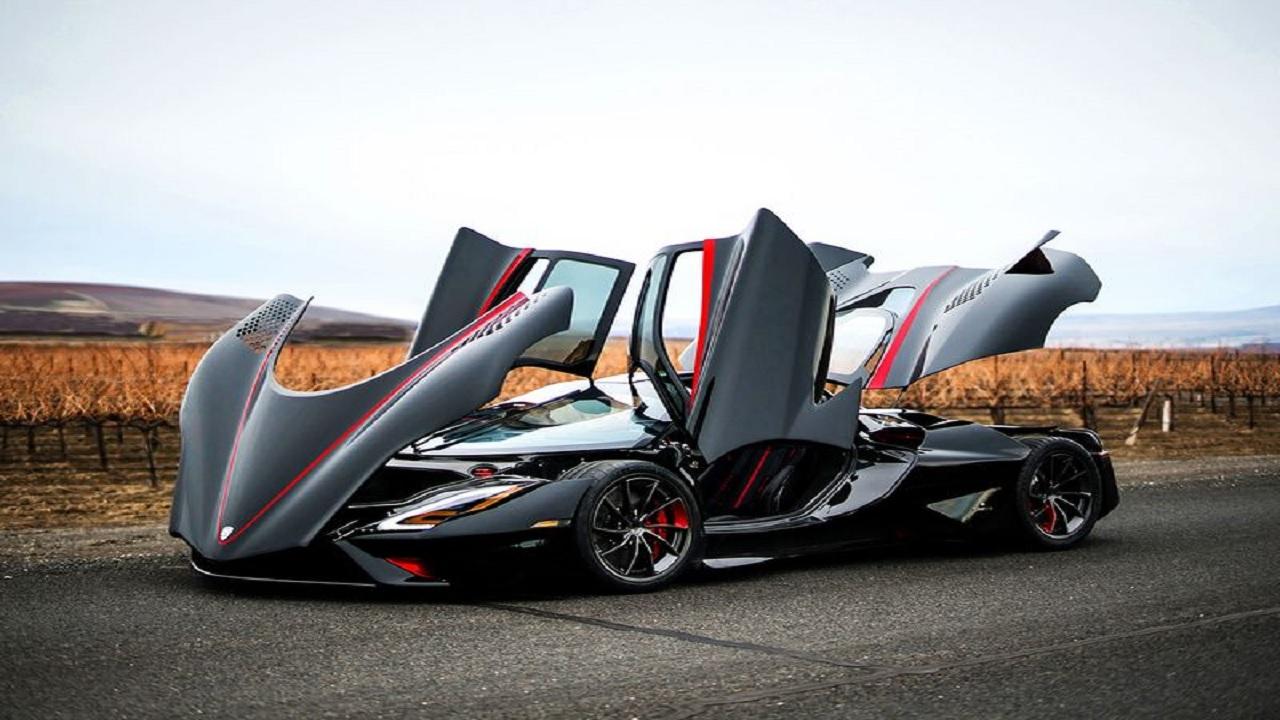 سریعترین خودروی جهان رونمایی شد+عکس