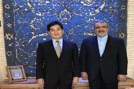 ورود سفیر جدید ژاپن به تهران+عکس