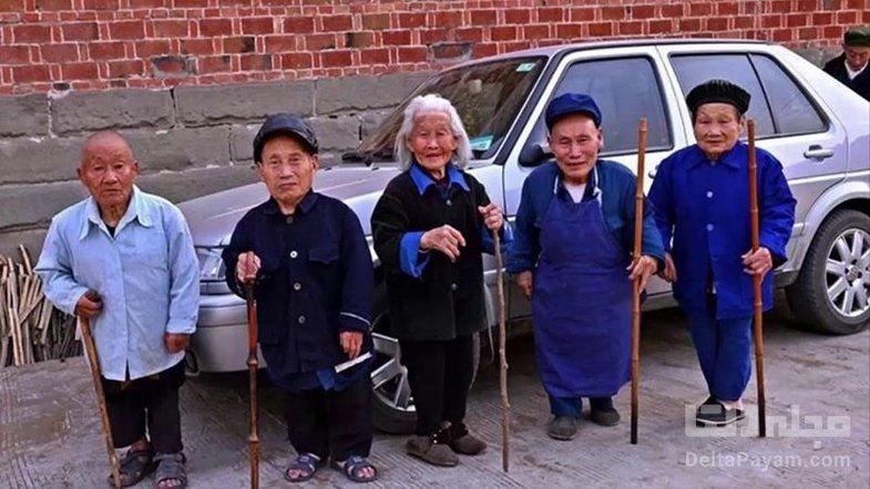 روستای کوتولهها در چین + عکس