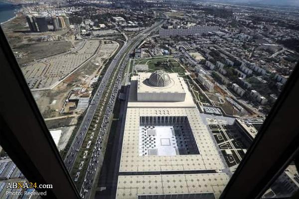 سومین مسجد بزرگ جهان افتتاح شد + تصاویر
