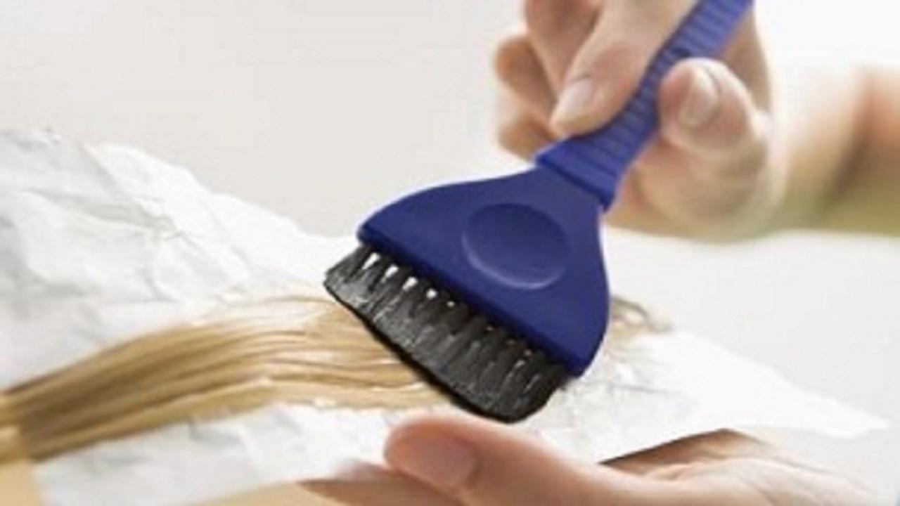 رنگ کردن موهای خیس