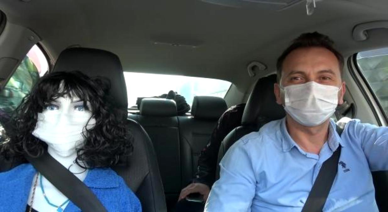 ابتکار یک راننده تاکسی برای مقابله با کرونا + عکس
