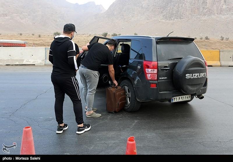 محدودیت های تردد؛ خودروهایی که جریمه شدند و برگشتند! + عکس