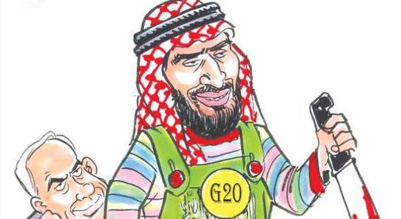 وضعیت آزادی بیان در عربستان + عکس