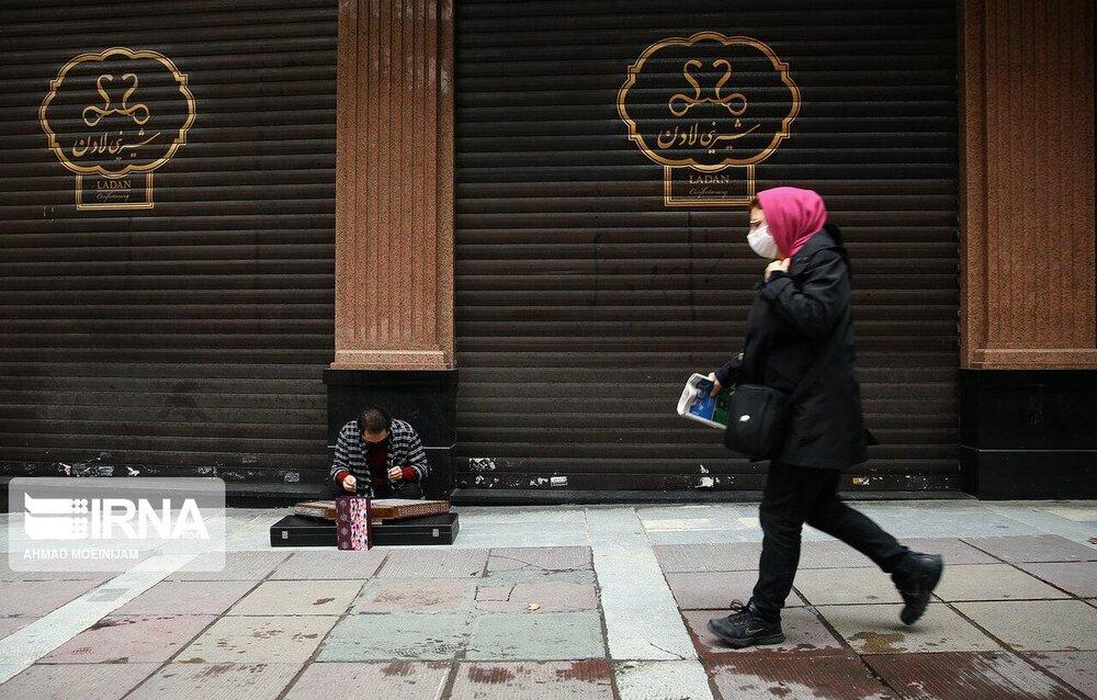 تهران در چهارمین روز اعلام محدودیتها+ عکس