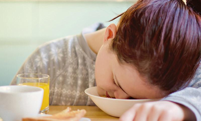 خوراکیهای خواب آور را بشناسید