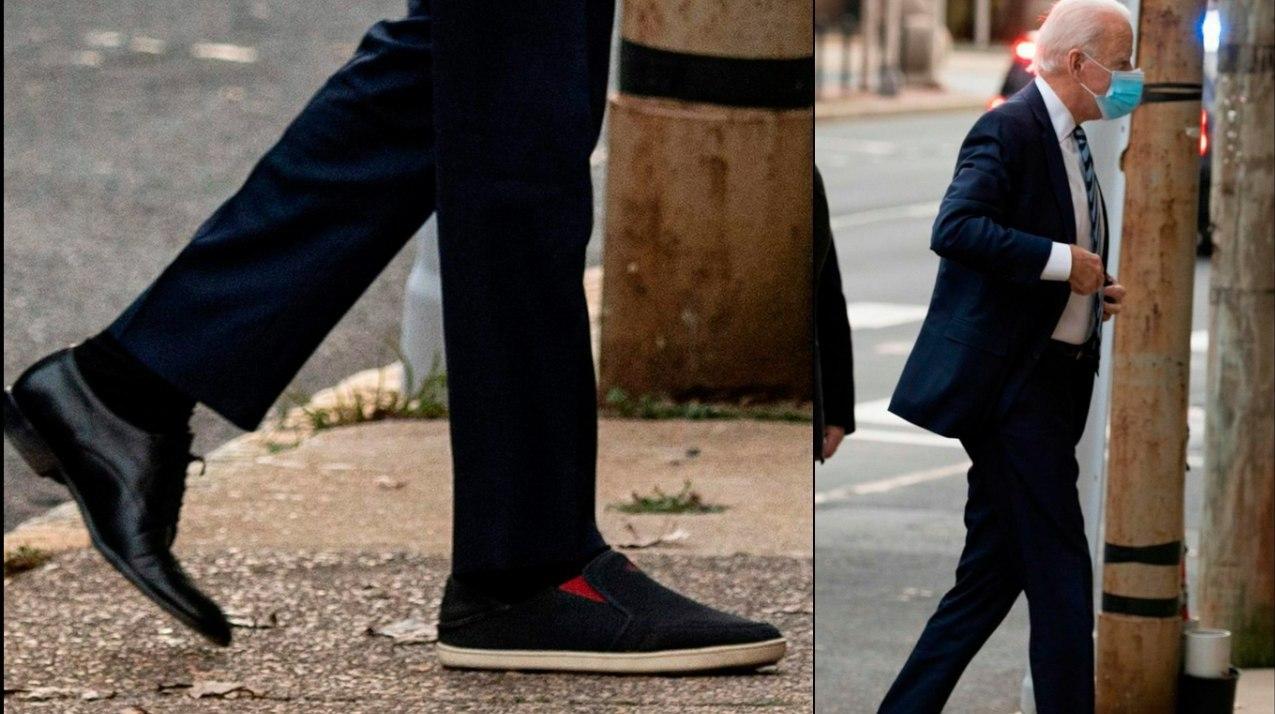 کفشهای لنگه به لنگه رئیس جمهور جدید آمریکا! + عکس