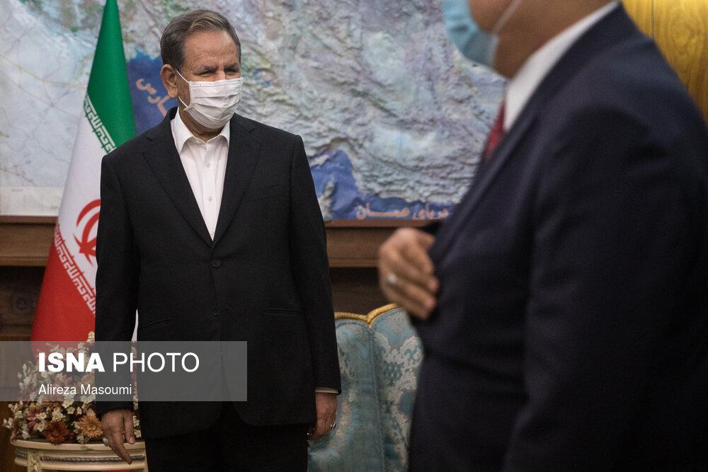 دیدار وزیر تجارت عراق با جهانگیری + عکس