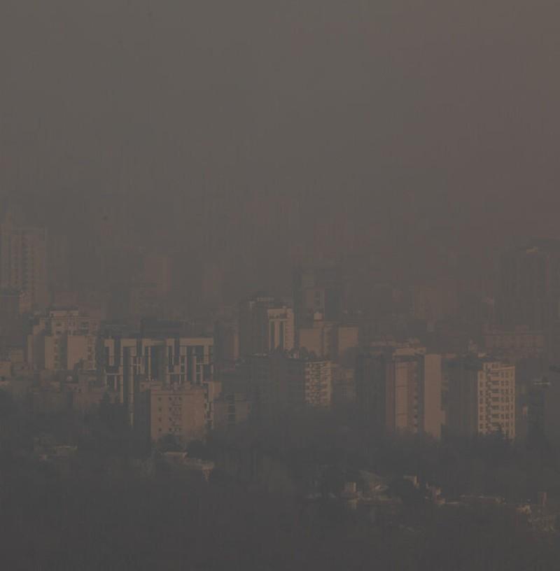 اینجا تهران است؛ جایی که نمیتوان نفس کشید+ عکس