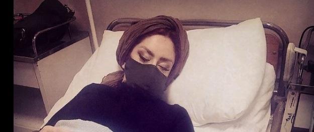 بستری شدن هنرمند معروف در بیمارستان بخاطر ام اس + عکس
