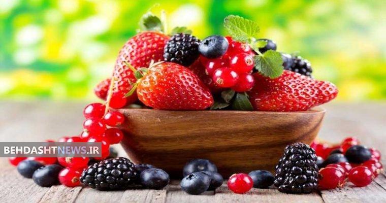 فواید میوه های قرمز رنگ