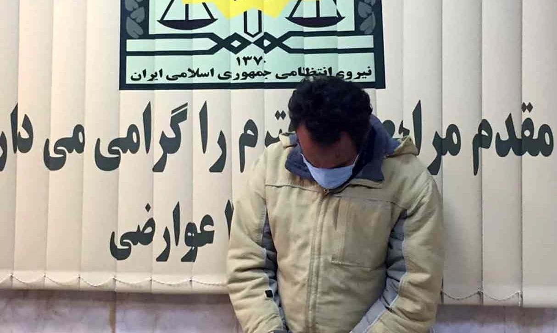 مردی که پیچ و مهرههای ریل مترو تهران - کرج را دزدید +عکس