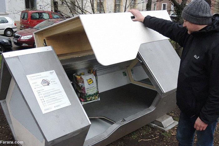 آشیانه ویژه بیخانمانها در آلمان + عکس