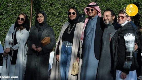 نمایش مد لباس زنان عربستان + عکس