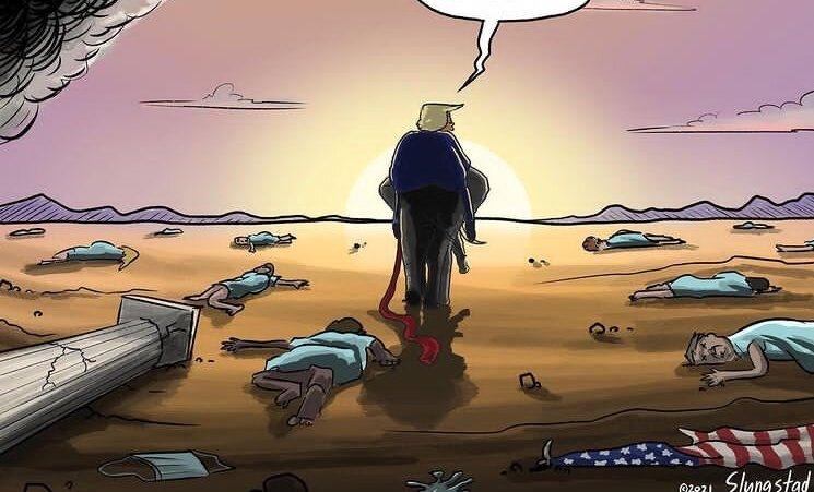 کار ترامپ در آمریکا دیگر تمام شد! + عکس