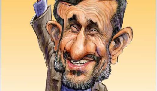 مردم کوچه و بازار احمدی نژد را می خواهند! + عکس